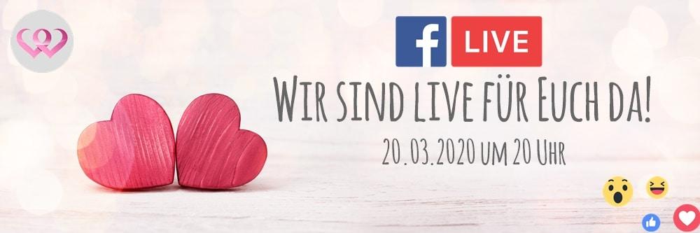FB Live Q & A am kommenden Freitag! – Zusammen durch die Coronakrise ❤